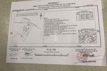 Cần bán nhà 1 trệt 2 lầu mặt tiền đường Nguyễn An Ninh, hướng Đông Bắc P. 7, TP. VT