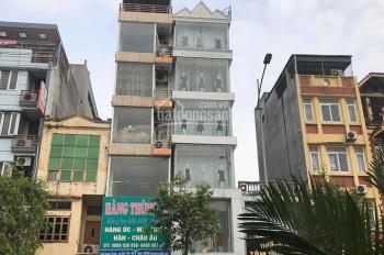 Covid khó khăn cần bán nhà mặt đường Quang Trung, Hà Đông, DT: 85m2 x 7 tầng, MT: 4,5m. Giá Covid