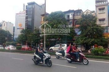 Cho thuê tòa văn phòng phố Nguyễn Khánh Toàn 6 tầng mặt tiền 12m