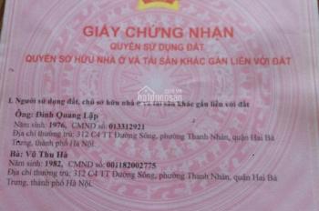 Chính chủ bán nhà 4 tầng giá 2.75 tỷ SN 20 ngõ 479 Lĩnh Nam, phường Lĩnh Nam, Q Hoàng Mai, Hà Nội