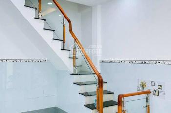 Nhà Hưng Phú P9 Q8 sổ 43m2 (hiện hữu 100%) ngang 3,5m dài 14m; 1 lầu đúc 4PN