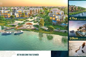 CĐT nhận booking nhà phố, shophouse, biệt thự đơn lập, song lập view sông ưu đãi lớn T10