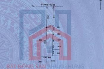 Hàng hiếm: Đất khu D, Phú Mỹ Thượng (Huế Green), đường 2 làn rộng 33m. Sạch sẽ không cống tủ