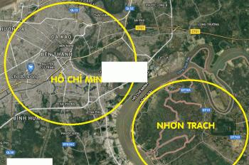 Bán 10ha đất Nhơn Trạch, Đồng Nai giá 5tr/m2, LVCC: 0932628595