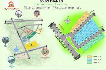 Bán 1 số nền đất giá tốt tại Samsung Village 1 2 3 4 liền kề khu công nghệ cao Quận 9