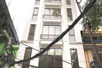 Bán tòa VP 9 tầng khu Ngã tư sở, phố Nguyễn Ngọc Nại, Thanh xuân, DT 139m2, 9 tầng, MT 7m