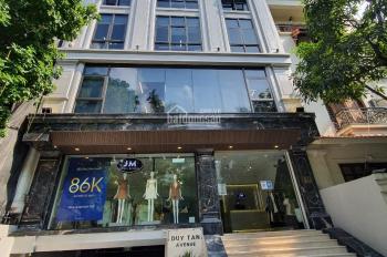 Cho thuê nhà phố ngay ngã 3 Nguyễn Hữu Thọ Giải Phóng DT 300m2 7T 1H MT 9m nhà mới thông sàn 180tr