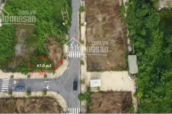 Đất lô góc: DG3-01 diện tích 67m2, giá 2 tỷ 320tr, khu đấu giá Khánh Tân, Sài Sơn, Quốc Oai, Hà Nội