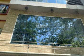Chính chủ cho thuê nhà MP Trần Khát Chân DT 160m 7 tầng MT 10m thang máy giá 110tr/th LH 0977433269