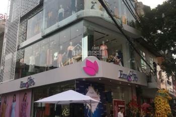 Cho thuê nhà mặt phố Trần Quang Diệu 85m2 x 6 tầng, mặt tiền lô góc 20m, nhà mới, thang máy