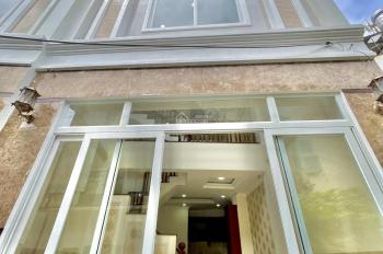 Nhà mới 1 trệt 3 lầu ngay Xô Viết Nghệ Tĩnh, Q. Bình Thạnh, giá 5 tỷ 8, hẻm thông D2 D5