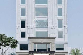 Cho thuê building rất đẹp mặt tiền đường Nguyễn Hữu Thọ siêu VIP với bề ngang rất lớn gần 20m. Đỉnh