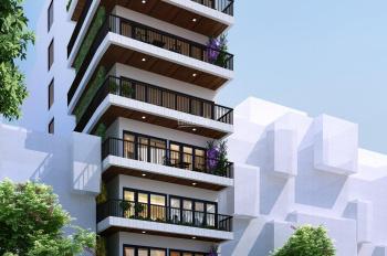 Bán toà căn hộ 8 tầng, DT 200m2 - MT 10m vị trí phố Trịnh Công Sơn Tây Hồ đang cho thuê 300tr/th