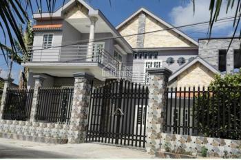 Chủ cần bán gấp căn biệt thự, 1 lầu 1 trệt, dt, 287m2 thổ cư, xã Thanh Phú huyện Bến Lức