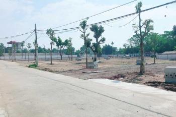 Cần tiền bán gấp lô đất gần CNC Hòa Lạc, chỉ 12trđ/m2. Mặt tiền 15m, ngay QL21A, sẵn sổ