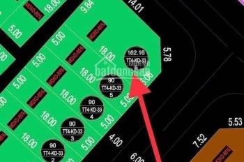 Cần tìm chủ nhân mới sở hữu căn góc Đông Nam 162m2. LH 0972402092