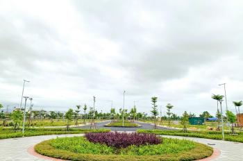 Đất nền sổ hồng mặt tiền Trần Hưng Đạo đối điện Coopmart TX Đức Phổ, điện âm, hạ tầng hoàn thiện