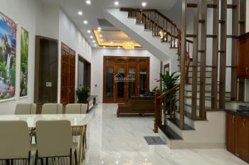 Nhà bán biệt thự 4 mặt thoáng đầu phố Lĩnh Nam, P. Mai Động. MB 90m2*4T mới, 8P, 4WC