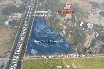 Chỉ từ 1 tỷ sở hữu ngay đất Đồng Trúc sát CNC Hòa Lạc - ra Đại Lộ Thăng Long 200m - LH: 0862316661