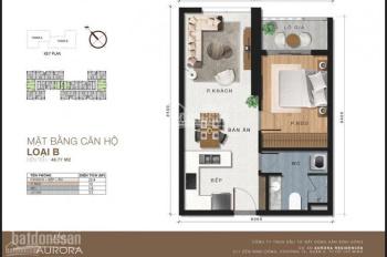 Chính chủ gửi bán căn hộ 1PN 49m2, tầng 18 view Võ văn kiệt, giá 1.540 tỷ. LH 0973 610 214 - Thạch