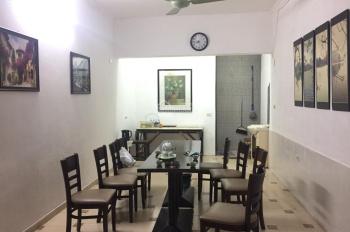 Cho thuê nhà ngõ 72 Thông Phong, Tôn Đức Thắng: Diện tích 45m2 x 4 tầng, mặt tiền 5m, nhà mới đẹp