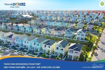 Cần bán nhanh căn nhà phố 5x20m NovaWorld khu 5 cạnh club house nội khu giá 3,3 tỷ LH 0931832038