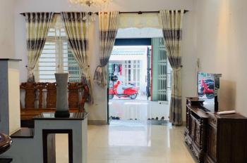 Nhà lầu DT rộng 83.5m2 HXH ô tô đậu trong Nhà. KDC hiện hữu, dọn vào ở ngay, ngay Phạm Văn Đồng