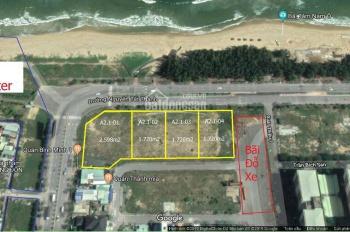 Bán Đất 2 lô VIP - 3.440m2 mặt tiền đường biển Nguyễn Tất Thành, Đà Nẵng