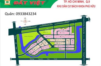 Sở hữu ngay đất nền vị trí đẹp KDC Bách Khoa,Nguyễn Duy Trinh,P.Phú Hữu,Q9,LH 0933843234