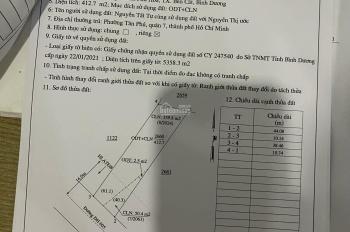 Đất DH605 DT 10x44 Tc 172m2 giá 4tỷ050