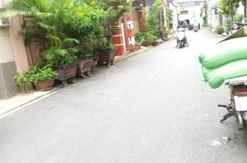 Nhà thuê HXT khu Bình Giã Tân Bình, DT 200m2 nhà trệt, 4 lầu, 8 Phòng, giá thuê mùa dịch 40tr/th