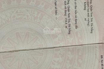 Bán đất tặng nhà cấp 4 mặt tiền Nguyễn Duy Hiệu, Sơn Trà giá sập hầm