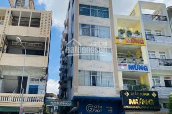 Bán gấp tòa nhà ngay sát MT Cách Mạng Tháng 8, Tân Bình, 6.3x20m, NH: 7.5m, 6 tầng, giá: 25.5 tỷ TL