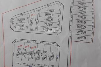 Bán đất đấu giá X5 Trung Oai. Lô số A4 và A6 lô góc