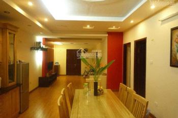 Bán căn hộ sổ đỏ chính chủ, 110m2 tại CT4 Văn Khê, 3 PN, 2 vc, trần TC, sàn gỗ, tủ bếp, điều hòa