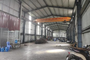 Cho thuê kho xưởng mặt đường 5 diện tích 1000 và 2000m2 có cẩu trục trạm điện lớn