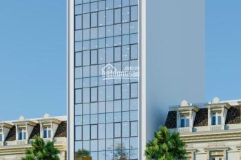 Tôi có tòa nhà 8 tầng có hầm cho thuê tọa lạc tại phố Trần Thái Tông, DT 185m2 / sàn. Giá 185tr/th