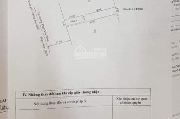 Bán đất mặt tiền 561 Phạm Văn Đồng