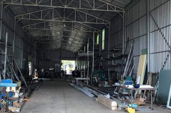 Bán 1 sào đất, kho xưởng mặt tiền Quốc Lộ 1A gần công an Xuân Hiệp - 0976711267