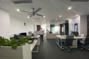 Cho thuê văn phòng tòa Eurowindow - Trần Duy Hưng DT 100m2 đã chia phòng, có sẵn nội thất, free làm
