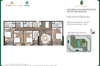 Tổng hợp các căn hộ giá tốt nhất The Emerald CT8 Mỹ Đình trực tiếp cư dân 2PN - 3PN - 4PN