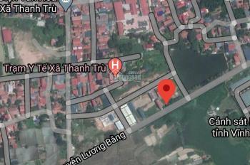 Bán đất đấu giá Đồng Chéo Áo, Thanh Trù, Vĩnh Yên. Diện tích 92, 100, 102m2