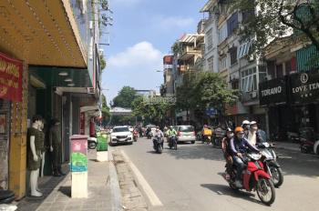 Cho thuê nhà mặt phố Bạch Mai: Diện tích 100m2 x 5 tầng, mặt tiền 4.5m kinh doanh tốt