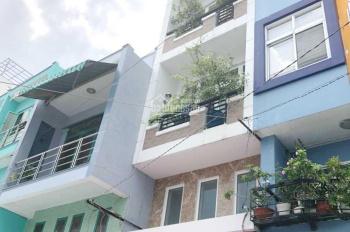 Nhà nở hậu, 2 lầu, ST, mặt tiền chợ Rạch Ông P2 Q8