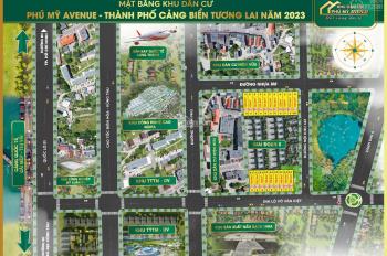 Đất nền sổ đỏ mặt tiền đường Võ Văn Kiệt (Mỹ xuân - Ngãi giao)