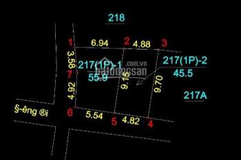 Em CC bán nhanh lô 101m2 tại Vân Côn Hoài Đức, đường oto bán tải vào tận đất, LH 0915861100