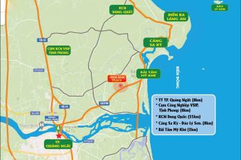 Đất biển Tịnh Khê - Thành Phố Quảng Ngãi chỉ 500 Triệu/nền sổ hồng thổ cư 100%