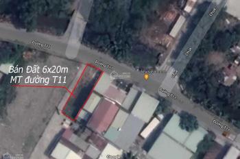Bán đất đường T11, xã Tân Quý Tây, Bình Chánh. 6x20m đất NN