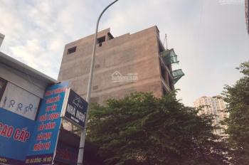 Chính chủ cần bán tòa nhà 7 tầng, có thang máy Hà Trì, Hà Cầu, 2 mặt tiền, đường rộng 0982468885