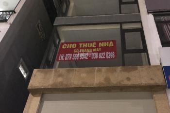 Cho thuê nhà mặt tiền 7T x 62m2, 1 mặt ngõ phố Minh Khai - HBT - Hà Nội